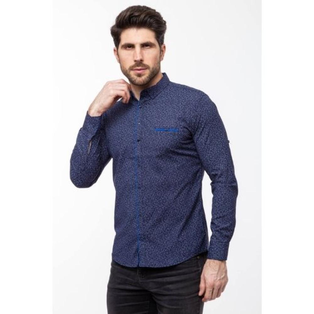 Рубашка Varetti темно-синяя