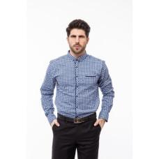 Рубашка Varetti голубая клетка