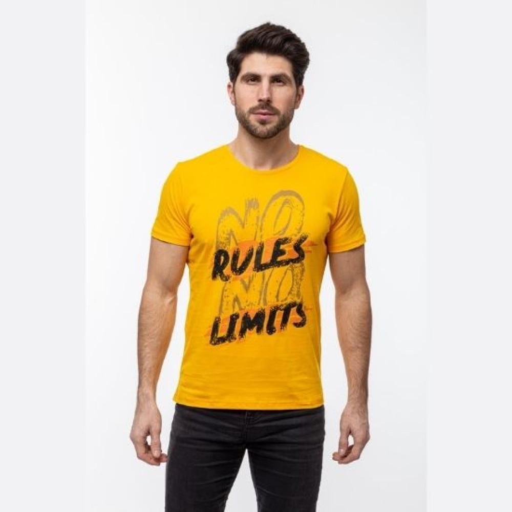 Футболка Rules Limits пудра