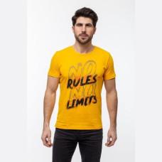 Футболка Rules Limits желтый