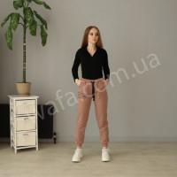Спортивные штаны New Fashion мокко