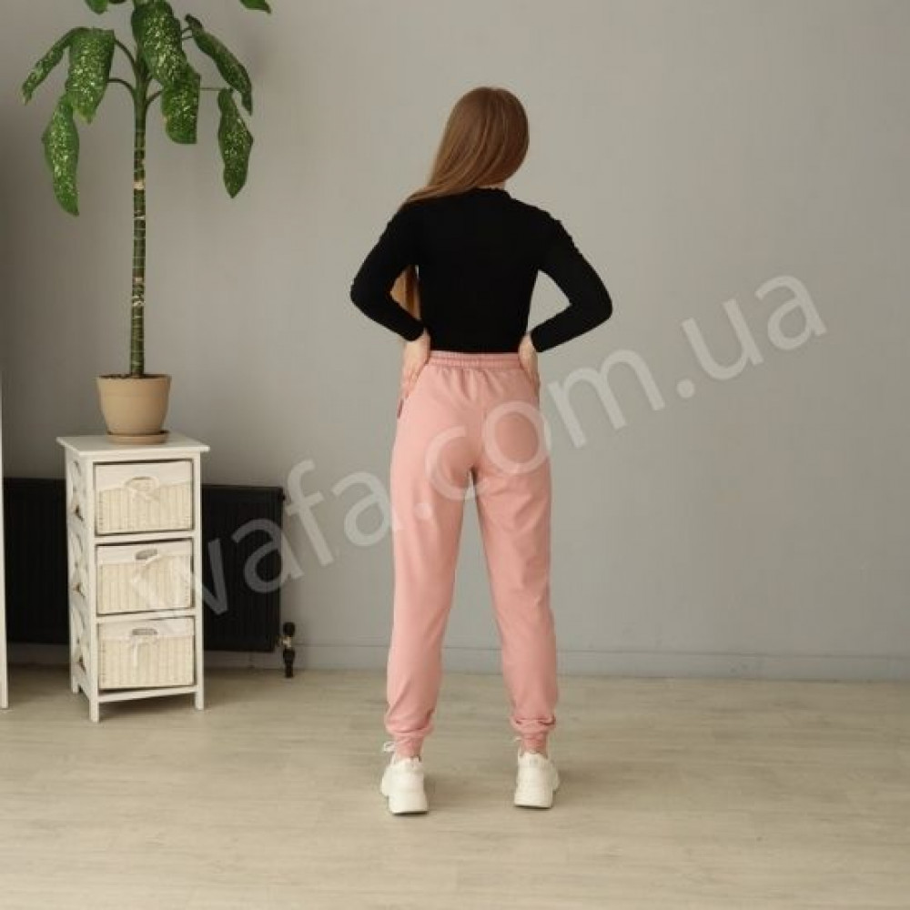 Спортивные штаны New Fashion пудра