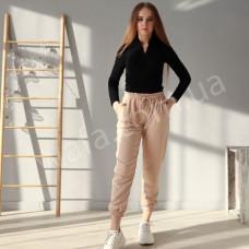 Спортивные штаны  New Fashion бежевые
