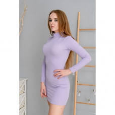 Платье Wafa приталеное сиреневые