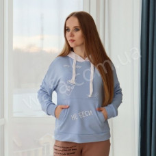 Худи New Fashion голубой