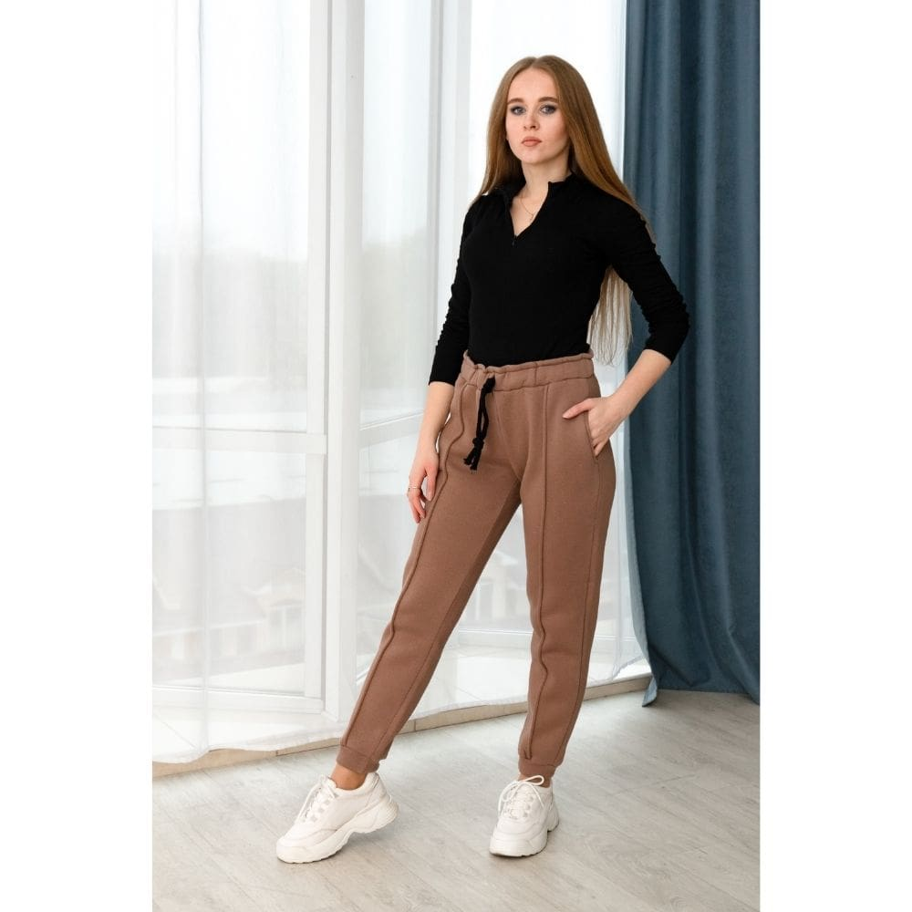 Спортивные штаны Wafa коричневые