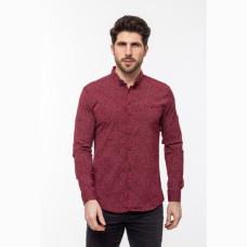 Рубашка G-Port бордовая