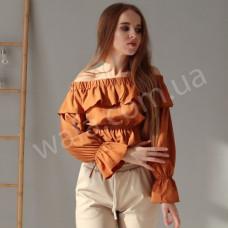 Топ Wafa оранжевый