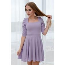 Платье Wafa люрексовое серенивое