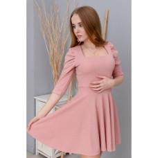 Платье Wafa люрексовое розовое