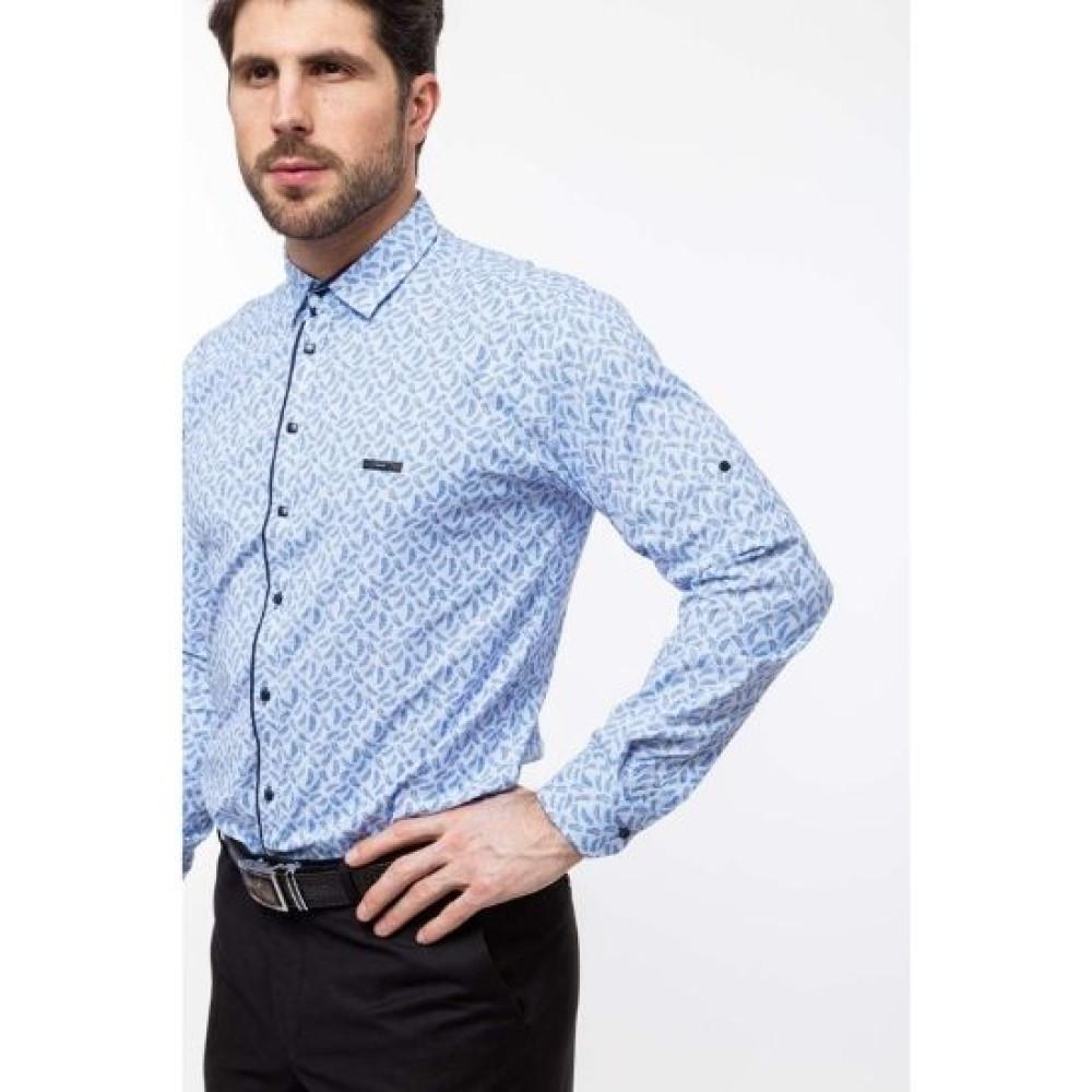 Рубашка Varetti голубая