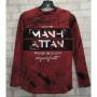 Толстовка лонгслив Manhattan красный